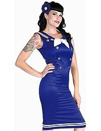 Marinero Pin-up vestido
