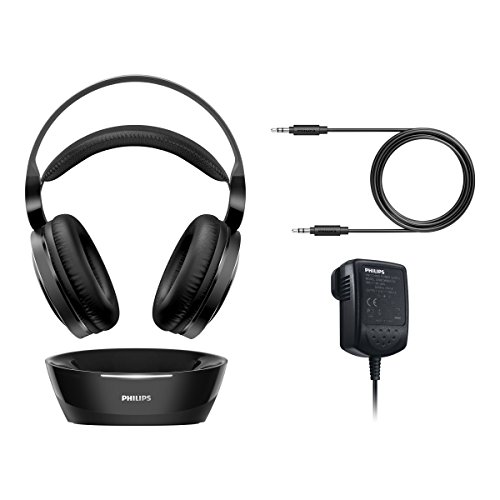 Philips SHC8800/12 Over-Ear Funkkopfhörer (offen, 100m Reichweite) schwarz - 8