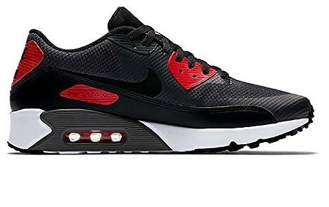 Nike Air Max 90 Ultra 2.0 Essential, Herren Turnschuhe, Mehrfarbig (Anthracite/black/university Red/white), 42 EU