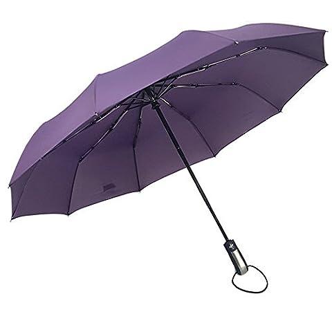 Compact Travel Umbrella Folding Windproof for Women Men Auto Open Close Umbrella Portable Strong