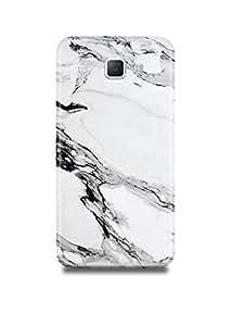Samsung A7(2016) Cover,Samsung A7(2016) Case,Samsung A7(2016) Back Cover,White & Black Marble Samsung A7(2016) Mobile Cover By The Shopmetro-17595