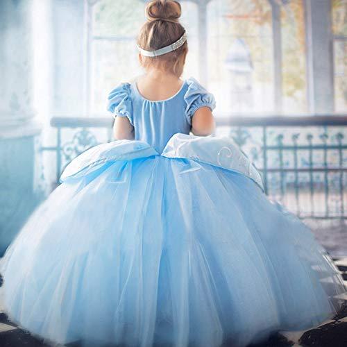 59c05b32c2743 oobest Vestito da Principessa Costume Ragazze Halloween Party Fancy Cosplay  Cenerentola Prom Abiti da Sposa