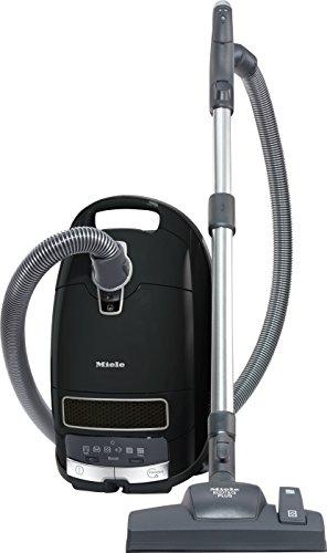 Miele Complete C3 Comfort EcoLine Bodenstaubsauger (mit Beutel, 4,5 Liter Staubbeutelvolumen, 550 Watt, 12 m Aktionsradius, HEPA Filter für Allergiker) schwarz -