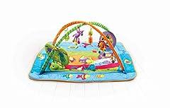 Idea Regalo - Tiny Love Gymini Kick & Play Palestrina Musicale per neonati e Bambini,  con archi gioco e tappeto Gioco Extra Large, giochi musicali e massaggia gengive inclusi