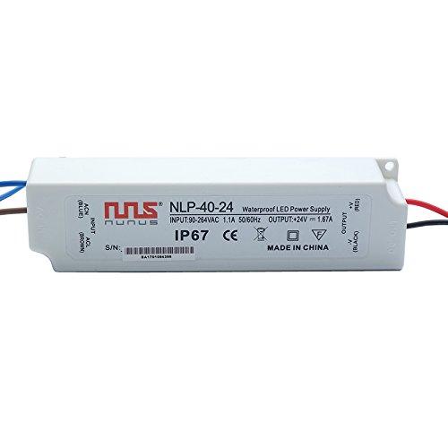 NuNus LED Transformateur Electronique 24V 40W IP67 NLP-40-24