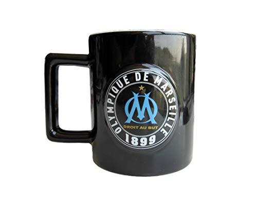 Om Olympique de Marseille - Mug en céramique Logo en Relief - Produit Officiel - Idée Cadeau