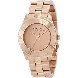 Marc Jacobs MBM3127 - Reloj para mujer con correa de acero, color dorado/gris