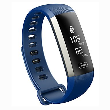 Lemumu M2P Smart Armband Armband Fitness Tracker Blutdruck Sauerstoff Pulsoximeter Passometer Herzfrequenz Tracker App für Ios Android, Schwarz