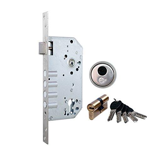 GLK 3200BR Cerradura de Seguridad de Embutir Bronce 60 mm