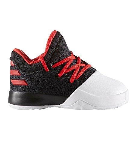 adidas Boys' Harden Vol. 1 Sneakers (Toddler), Black/Scarlet, 5 (Toddler Sneaker Adidas)