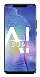 HUAWEI Mate20 Pro Dual-SIM Smartphone Bundle (6,39 Zoll, Künstl. Intelligenz, Leica Triple Kamera, 128 GB interner Speicher, 6 GB RAM, Android 9.0, EMUI 9.0) Black + gratis USB Typ-C-Adapter [Exklusiv bei Amazon] - Deutsche Version