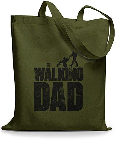 StyloBags Jutebeutel / Tasche The Walking dad Khaki