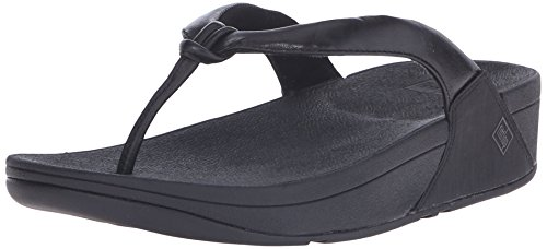 Fitflop Tongs Swirl All Black All Black