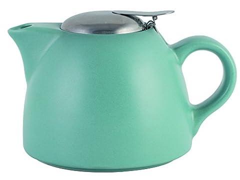 La Cafetiere Barcelona Teapot with Infuser, 900 ml - Retro Blue
