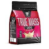 BSN True Mass 1200 Super Mass Weight Gainer (mit Protein- und komplexer Kohlenhydrat Mischung plus Aminosäuren zum Masse aufbauen) Vanille Geschmack, 1er Pack (1 x 4800 grams)