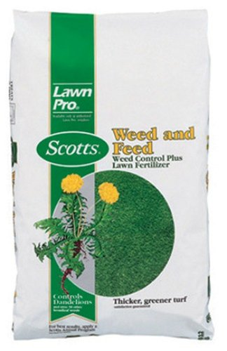 Sq Cover (SCOTTS LAWNS - Lawn Pro Weed & Feed Fertilizer, 26-0-3, Covers 5,000-Sq.-Ft.)