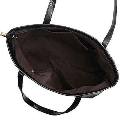 Alligator brillant occasionnels de grande capacité bacs Simple dames sac à main Shopping Sacs à bandoulière en cuir PU