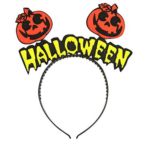 LCLrute Halloween Stirnband Haar Kopf Haarband Fotografie Requisiten Baby Mädchen (A)