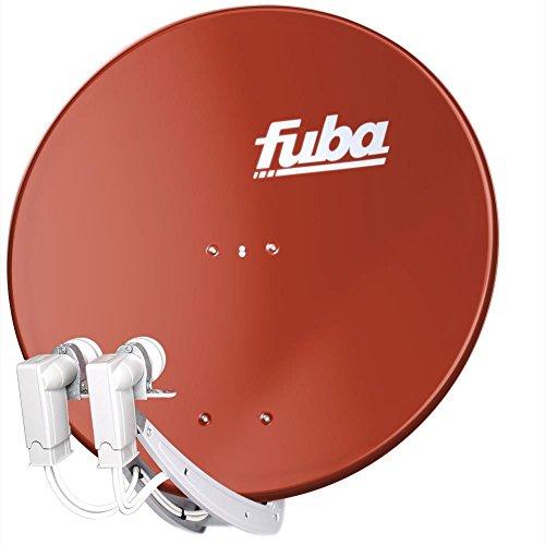 Fuba DAA 850 Satellitenspiegel 85cm Rot