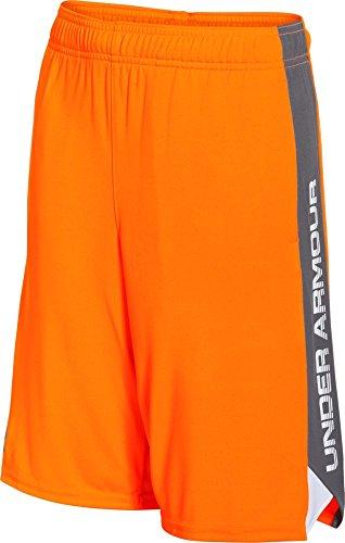 Under Armour Jungen Fitness Eliminator Shorts, Traffic Cone Orange, S, 1253851