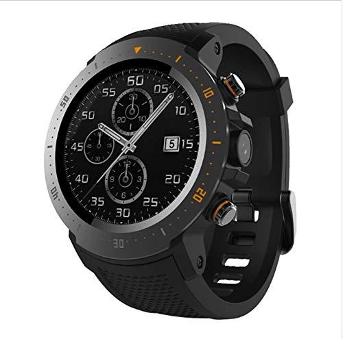 Fitness-gesundheits-systeme (LIRUI057 4G Smartwatch, Android 7.1-System, IP67-wasserdichter Gesundheits- und Fitness-Tracker 1 + 16G, GPS Bluetooth Call.200w HD-Kamera, eine Uhr, die Musik abspielen kann)