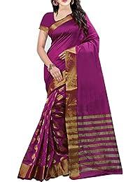 Kanchan Women Wedding Bengal Cotton Silk Printed Saree For Ladies & Girls (Zarmar Yellow Beige_Multi-Coloured)