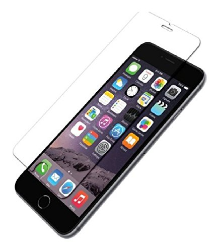 AMERICHOME GORILLA Tempered glass for Apple Iphone 6s Plus(TRANSPARENT)