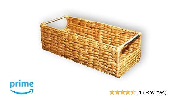 Extra schmale Korb-Box aus geflochtener Wasserhyazinthe #204034 KMH/®