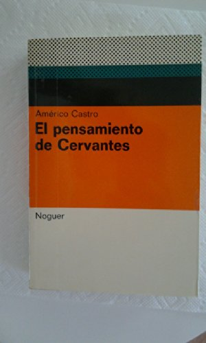 Portada del libro El pensamiento de Cervantes