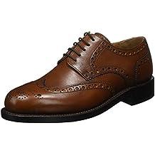 J.Briggs Schuhe Herren Halbschuhe Schnürschuhe Budapester
