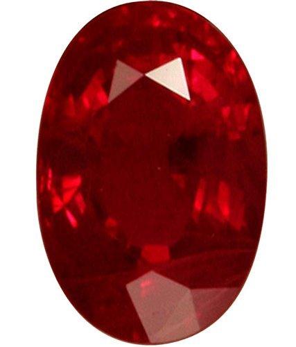 Ruby / Manik Lab Certified Natural Ruby Gemstone 7.25 Ratti By AKSHAY GEMS
