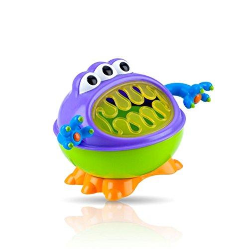 Nûby 220007 Monster Snack-Box, mehrfarbig