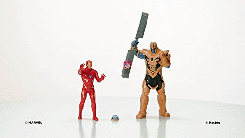 Marvel Avengers- Iron Man Vs. Thanos Set de Combate (Hasbro E0559105) 3