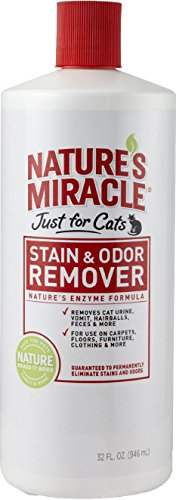 United Pet Group Nat Mirc - Just For Cats Stain Remover et odeur 32 onces - 5158