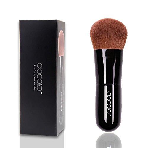 Brocha Mágico para Base –Docolor Brocha para Base Mineral, Polvo, Rubor Herramienta de Maquillaje Cosmético Brocha para Maquillaje