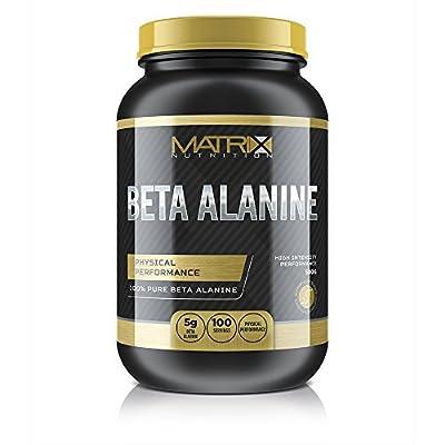 Matrix Nutrition Pure Beta Alanine Powder 500G - Preworkout - Muscle Strength - Endurance Booster