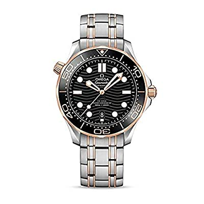 Omega Seamaster Automatic Black Dial Men's Watch 210.20.42.20.01.001