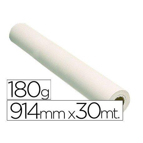 Fabrisa 79103018 - Rollo de papel para plóter, 180 g, 914 mm x 30 m