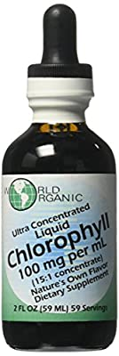 World Organics Ultra Concentrated Liquid Chlorophyll, 2 OZ by World Organics