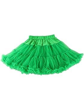 Wennikids mujeres adultas de 17cm de largo gasa enaguas tutú Petticoat