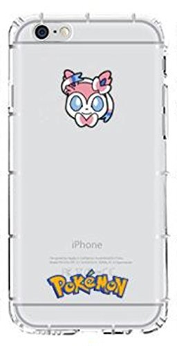 "Phone Kandy® Pokemon Anti choc anti-choc transparents transparent mignon TPU Silicone Coquille Case & Screen Guard (iPhone 6 Plus (5.5""), 11. Pokemons) 8. Sylveon"
