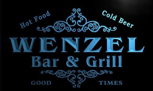 u48017-b-wenzel-family-name-bar-grill-home-decor-neon-light-sign-barlicht-neonlicht-lichtwerbung