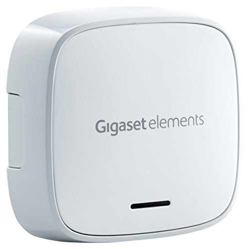 SET-ERGÄNZUNG Gigaset Fenstersensor – für große und kleine Fenster – Alarmsensor mit...