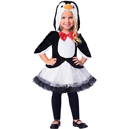 Pinguin Kind Kostüm - Pinguin Tier Kostüm Kinder Mädchen Amscan