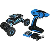 PLAY DESIGN Remote Control Mini Rock Through Car, Blue