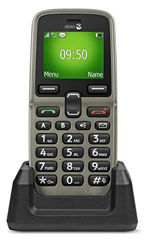 Doro 5030 1.7' Oro Teléfono básico - Teléfono móvil (Barra, SIM única, 4,32...