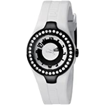 Puma PU101122002 - Reloj de Pulsera Mujer, Poliuretano, Color Blanco