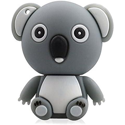 818-TEch no50300050032 Hi-Speed 2.0 USB PenDrive 32GB divertente koala 3D