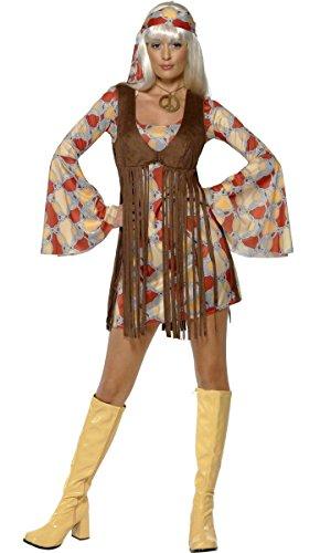 Generique - Hippie-Kostüm für Damen S