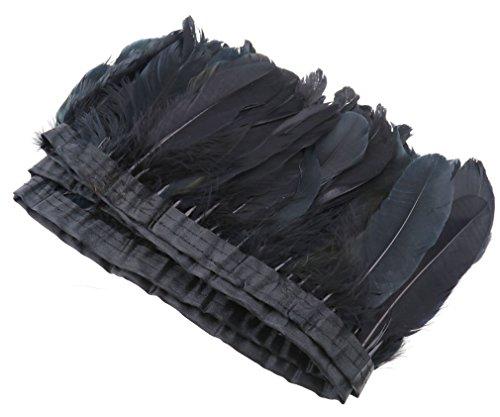 2m-noir-plume-doie-ruban-de-toile-a-coudre-craft-diy-vetement-danse-halloween